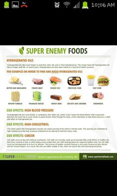 Super enemy foods