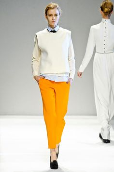 Yigal Azrouel  - One of my favorite shades of yellow.