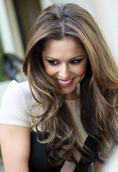 cheryl cole Kate Brooks in the Tangled series Brown Hair With Blonde Highlights, Hair Color Highlights, Hair Color Balayage, Ashy Balayage, Chunky Highlights, Highlights For Brunettes, Coloured Highlights, Highlights 2017, Short Balayage