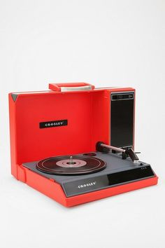 Crosley Spintronic Portable USB Turntable. What's old is new again. See!