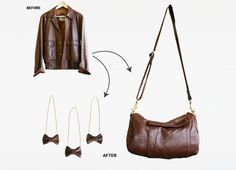 More repurposed leather