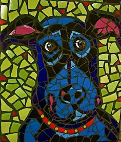 Mosaic art made for indoors is generally made on a substrate of plywood.Since it is protected from moisture and the elements, I usually don't use a sealer.A wipe of a damp cloth can effecti…