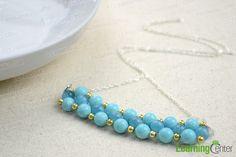 Cat eye necklace trends- beaded necklace designs ideas - Pandahall.com