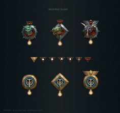 Skyforge. Icons by Andead on DeviantArt
