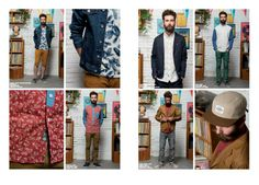 Element homme Collection Spring 2014 #lookbook #element