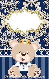 40th Birthday Cards, Baby Shower Invitaciones, Bear Theme, Diy Birthday Decorations, Notes Design, Disney Cars, Hello Kitty, Teddy Bear, Clip Art