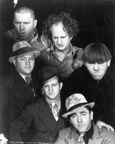 I don't trust people that don't love The Three Stooges. <--- This is the most beautiful thing I've seen all year. Star Hollywood, Golden Age Of Hollywood, Vintage Hollywood, Classic Hollywood, Hollywood Icons, Hollywood Celebrities, Paul Michael Glaser, The Stooges, The Three Stooges