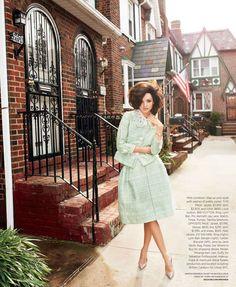 50s and over-the-top fabulous. Miranda Kerr by Terry Richardson/Harper's Bazaar US 2012