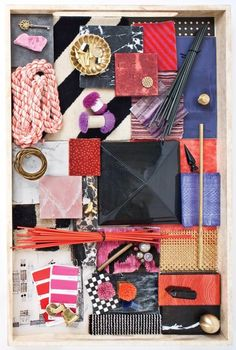 There is a lot going on in the world of Kelly Wearstler. Between the release of Kelly Wearstler's new book,. Business Branding, Colour Schemes, Color Combos, Color Palettes, Interior Design Presentation, Presentation Styles, Material Board, Wie Macht Man, Concept Board