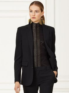 Collection Apparel Yvette Stretch-Wool Jacket - Collection Apparel Jackets & Coats - Ralph Lauren UK