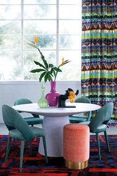 Part 4 of Home Beautiful's 2019 Trend Forecast bursts through with a retro decorating vibe and shows us just how to decorate with bold colour and pattern Retro Decorating, Decorating Your Home, Retro Living Rooms, Retro Pop, Colorful Furniture, Bold Colors, House Colors, Living Room Furniture, Trends