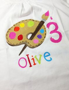 personalized birthday onesie or toddler shirt by rebekahcrisco, $22.00