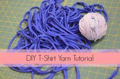 DIY T-Shirt Yarn Tutorial