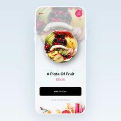 Android apps 688276755537764356 - Mobile App Design UI Source by codetavie Food Web Design, App Ui Design, Interface Design, Flat Design, Design Design, App Design Inspiration, Wireframe Mobile, Mobile App, Application Ui Design