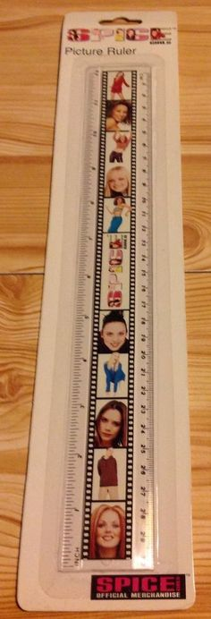 Rare Sealed Official Spice Girls Merchandise  Ruler Only One On Ebay