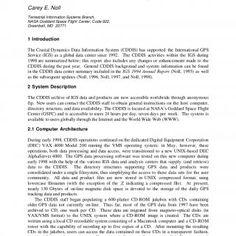 CDDIS 1998 Global Data Center Report Carey E. Noll Terrestrial Information Systems Branch, NASA Goddard Space Flight Center, Code 922, Greenbelt, MD 20771 1. http://slidehot.com/resources/cddis-1998-global-data-center-report.16442/