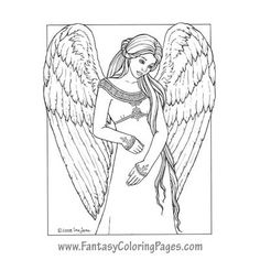 1000 images about Angels to Color