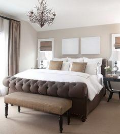 modern elegant bedroom - Buscar con Google