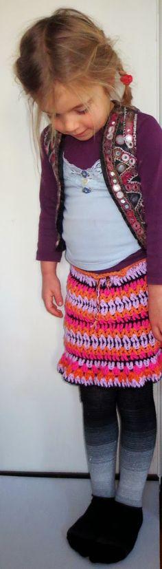 E Strea Chikitu: Tutorial rokje/skirt Rachel