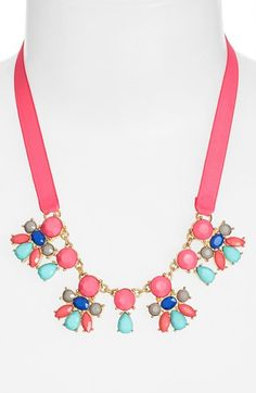 Cara Crystal Necklace (Girls) available at #Nordstrom