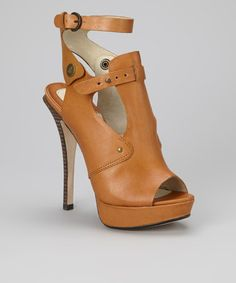 Take a look at this Saddle Sirocco Leather Sandal by Creative Recreation on #zulily today!