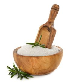 Salt and rosemary
