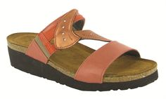 d12c35cb8aed Another great find on Coral Reef   Orange Kimberly Leather Sandal by NAOT. Naot  Footwear