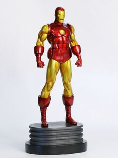 Iron Man Classic Museum statue  Sculpted by: Khurram Alavi (digital sculpture)    Release Date: May 2011  Edition Size: 750  Order Of Release: Phase V (statue #236)    ////  Marvelicious Toys - The Marvel Universe Toy & Collectibles Podcast