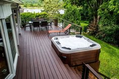 Deck Plans With Hot Tubs | decks and patios with hot tubs