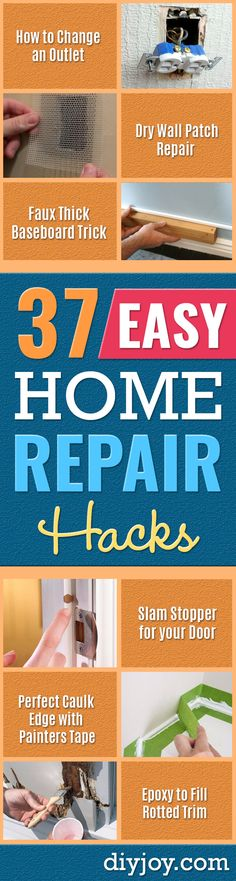 37 DIY Home Repair Hacks To Try Today - easy home repair projects diy home impr. - 37 DIY Home Repair Hacks To Try Today – easy home repair projects diy home improvement ideas – - Diy Projects Step By Step, Small Bathroom Renovations, Small Bathrooms, Budget Bathroom, Bathroom Ideas, Home Renovation, Home Remodeling, Home Fix, Diy Home Repair