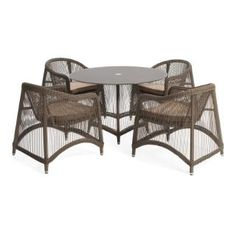 ARIA 5 PIECES OVAL DINING SET: Special Price: $ 2076,48