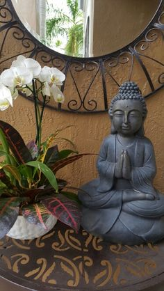 Home Decor Ideas - This Entryway Decor Idea is affordable, easy to complete and a very Zen-like way to greet your  guests