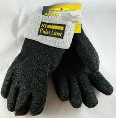New HT Polar Liner Ice Fishing Gloves Water Resistant JokaPolar X-Large XL Warm #HTEnterprises #FullFinger