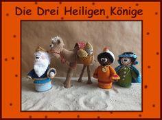 """Häkelanleitung """"Drei Heilige Könige"""" de Babsie´s Hook por DaWanda.com"""