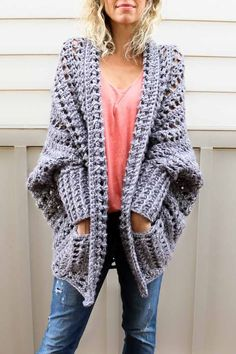 Crochet Kit - The Dwell Sweater - Kits - Lion Brand Yarn