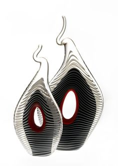 "*Art Glass - ""Keyhole Sculpture"" by Mike Wallace"