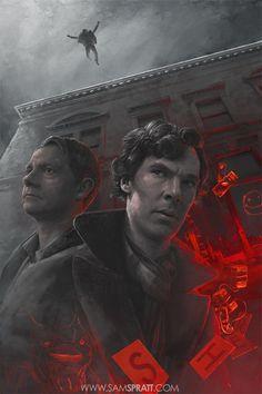 The Reichenbach Fall Hero.