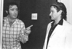 Andy Kaufman & Robin Williams