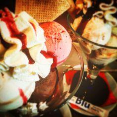 #icecream #sundae #anytime . Una #copa de #helado #ahora . #blulovesyou #mojacar