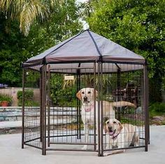 Portable Kennel Covers