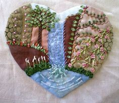 I ❤ crazy quilting, beading and embroidery . . . ~By Jo in NZ