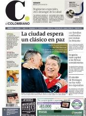 El Colombiano (Spanish for The Colombian) is the leading newspaper in Antioquia Department in Colombia whose headquarters are located in Medellín.