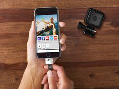 Straight from your action cam to your phone. 'Leef' it to us to make your life a bit easier.