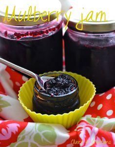 Mulberry jam - Claire K Creations Cantaloupe Recipes, Radish Recipes, Jam Recipes, Whole Food Recipes, Jelly Recipes, Fruit Recipes, Desert Recipes, Brunch Recipes, Mulberry Jam