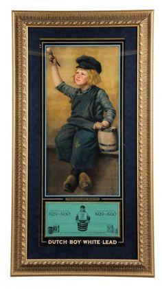 Dutch Boy Paints Advertising Calendar : Lot 211