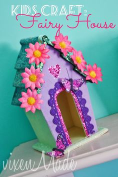 A Fairy House -- Exactly what my little girl has been bugging me for the last month... -CLM