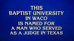 "What is ""Baylor University""? #SicEm"