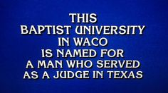 "What is ""Baylor University""? #SicEm"