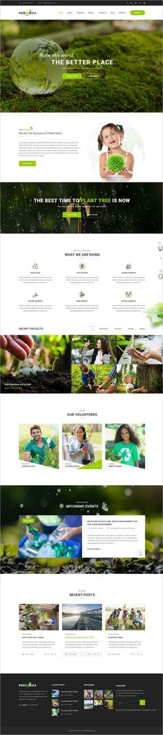 Podgorica is a wonderful #PSD Template suitable for all types of #Environmental and Go Green #Organizations website with 3 homepage layouts and 19 organized PSD files download now➩ https://themeforest.net/item/podgorica-environmental-psd-template/19165156?ref=Datasata
