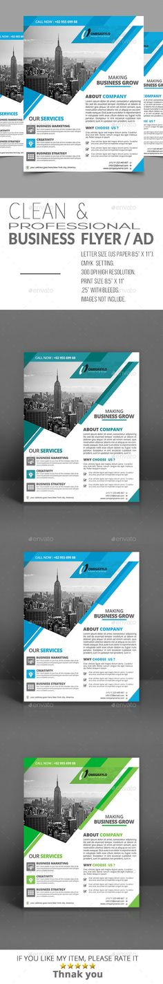 Corporate Business Flyer Template PSD. Download here: https ...